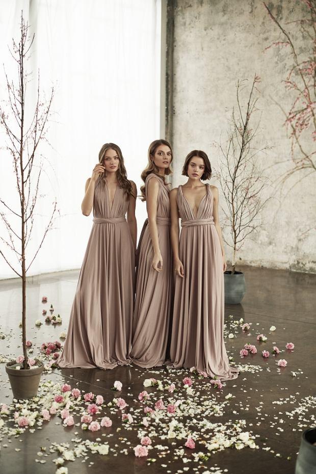 Flagowy projekt Rose Avenue to sukienka, którą można wiązać na 30 różnych sposobów