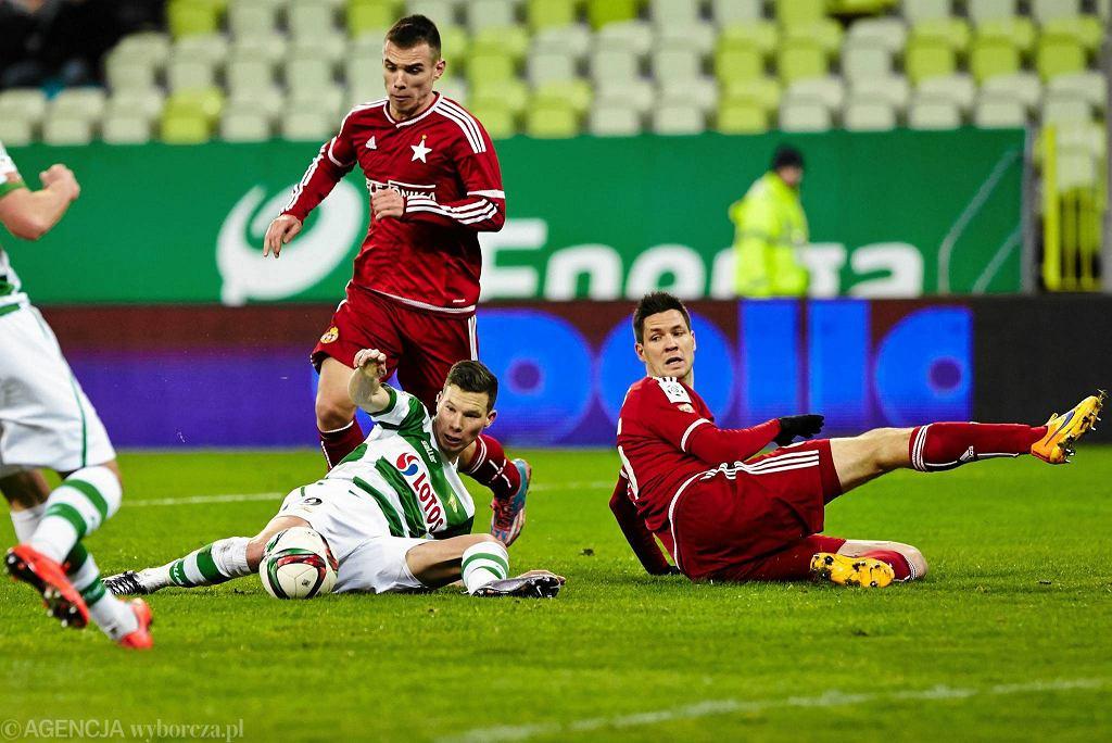 Lechia - Wisła 2:0. Michał Mak