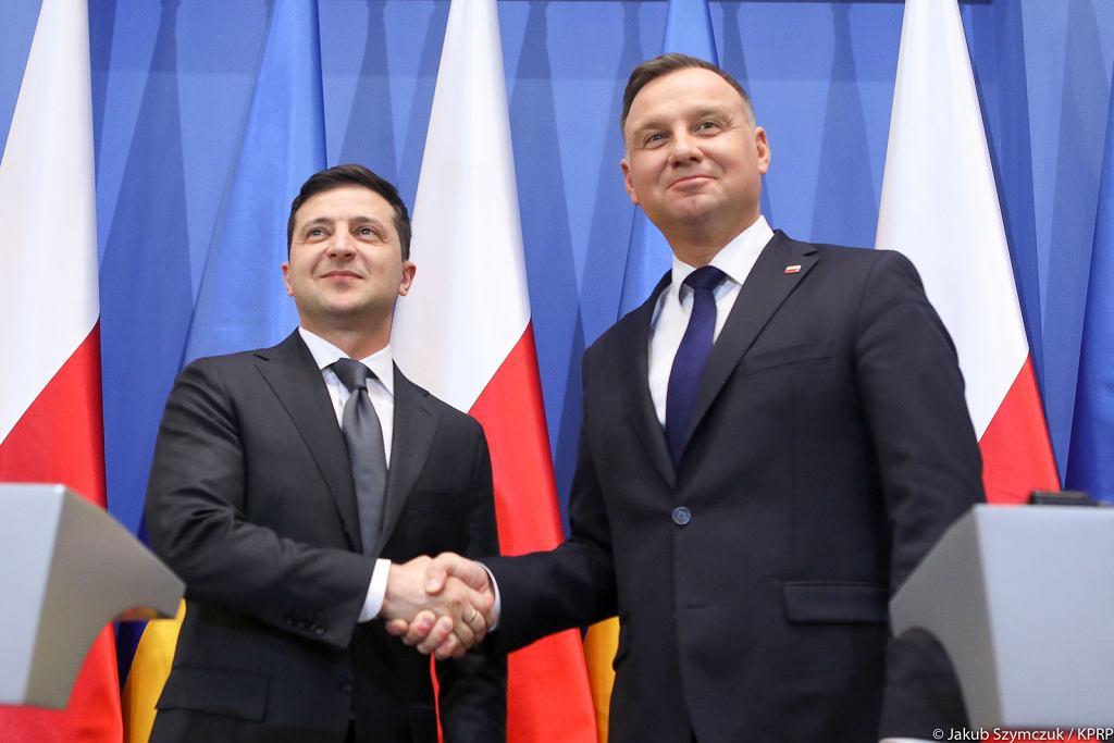 Wołodymyr Zełeński, Andrzej Duda