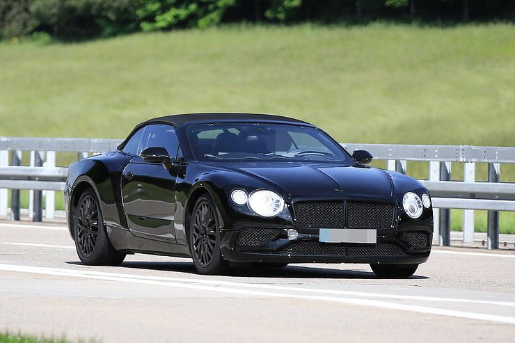 Prototyp Bentley Continental GTC