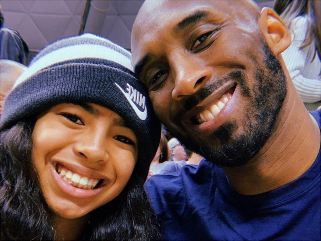 Kobe Bryant z córką