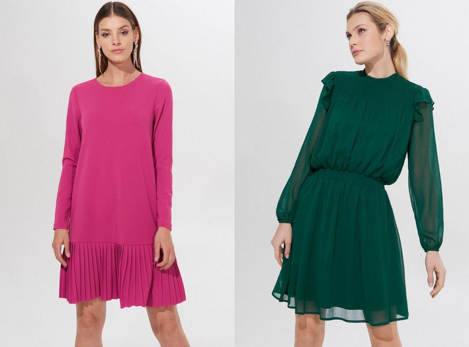 Sukienki na weselę 2020 w intensywnych kolorach