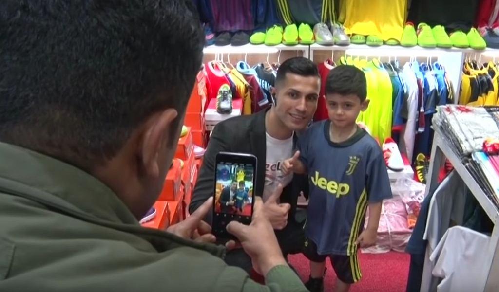 Biwar Abdullah, iracki sobowtór Cristiano Ronaldo