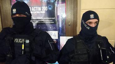 Policja blokuje kluby we Wrocławiu
