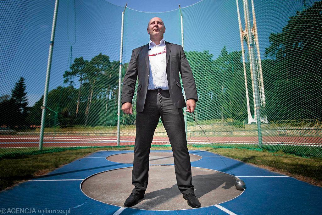Szymon Ziółkowski, mistrz olimpijski, a po wyborach parlamentarnych poseł Platformy Obywatelskiej (13 sierpnia 2015)