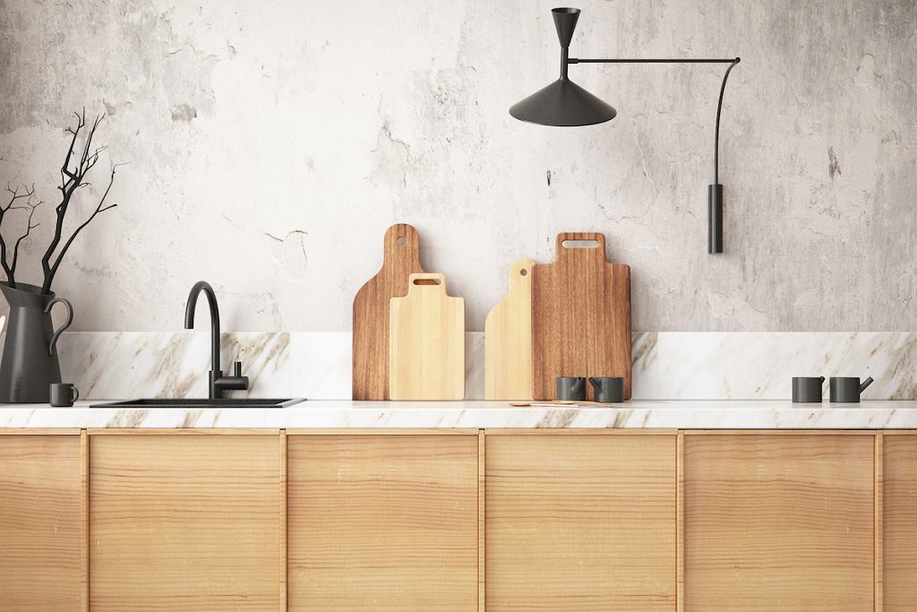 Granitowy zlew do kuchni w kolorze czarnym.