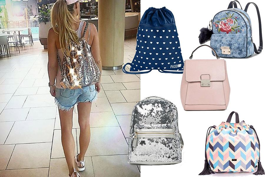 Kolaż, plecaki/Materiały partnera