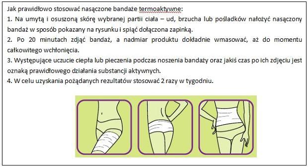 Bandaż termoaktywny
