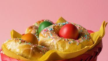 jajka w wieńcu