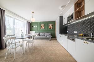 Mieszkanie w Krakowie pełne ciekawych detali