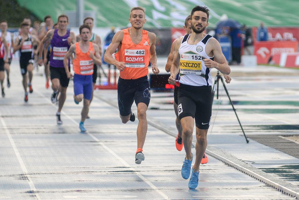 Adam Kszczot podczas Mistrzostw Polski w Lekkiej Atletyce