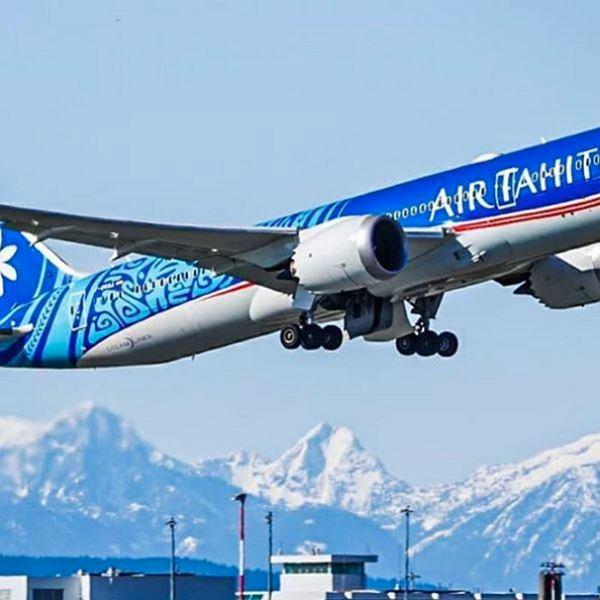 Samolot linii lotniczych Air Tahiti Nui