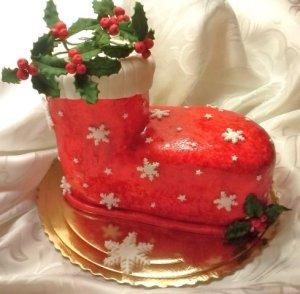 Świąteczny tort