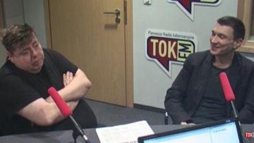 """Piotr Semka i Grzegorz Sroczyński w """"Poranku Radia TOK FM"""""""