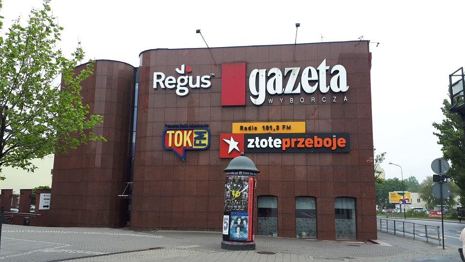 Budynek Gazety Wyborczej w Łodzi przy ul. Sienkiewicza 72