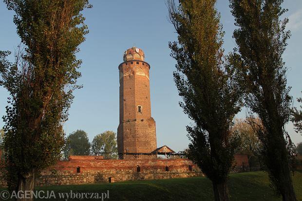 Pozostałości zamku krzyżackiego w Brodnicy. 15 lipca każdego roku na wieży podobno pojawia się duch komtura