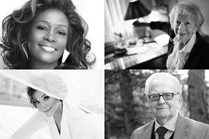 Whitney Houston, Irena Jarocka, Wisława Szymborska, Andrzej Łapicki.
