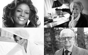 Whitney Houston, Irena Jarocka, Wisława Szymborska, Andrzej Łapicki