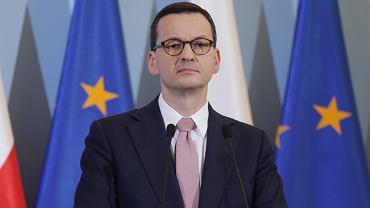 Konferencja premiera ws. epidemii koronawirusa w Polsce