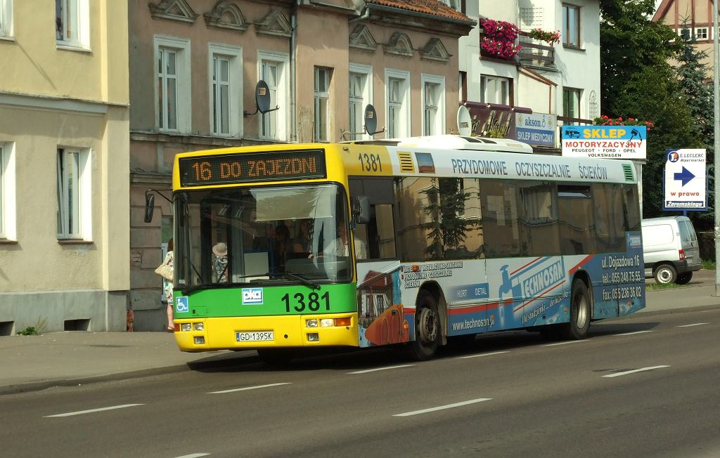 Autobus w Elblągu