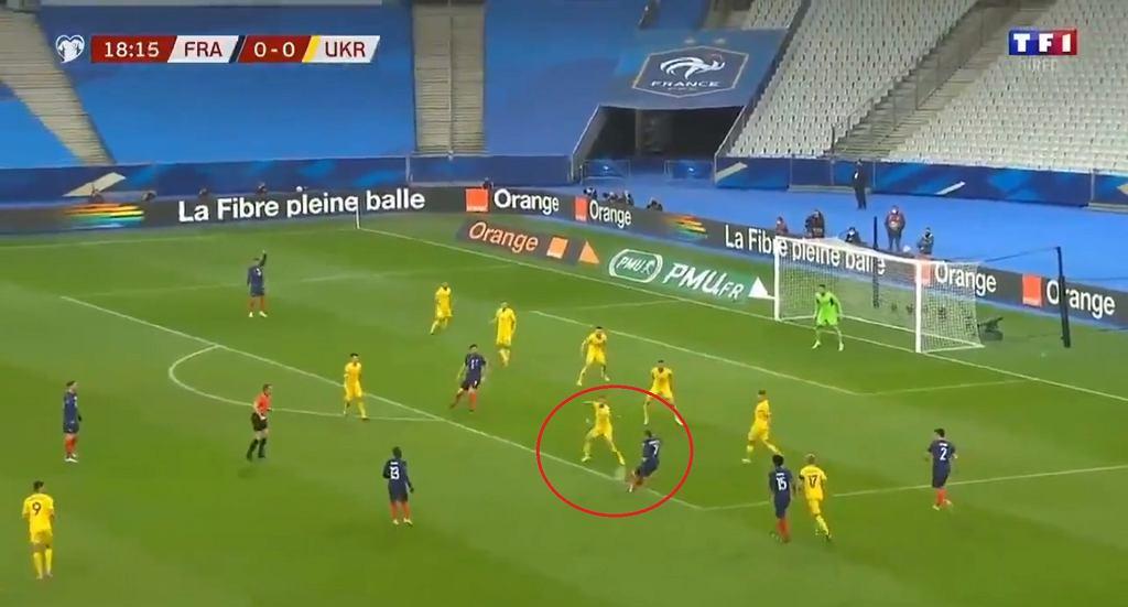Gol Antoine'a Griezmanna