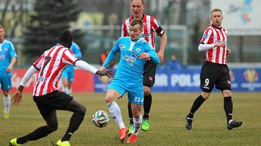 Łukasz Kosakiewicz w Niepołomicach zagrał tylko w pierwszej połowie