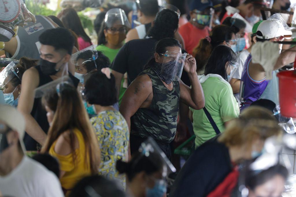 Filipiny - epidemia koronawirusa (zdjęcie ilustracyjne).