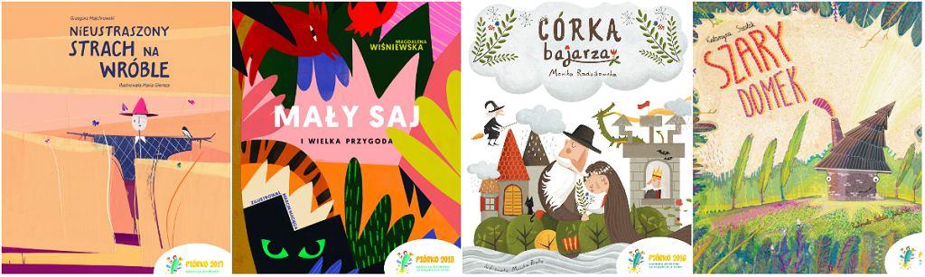 Książki autorów nagrodzonych w poprzednich edycjach konkursu