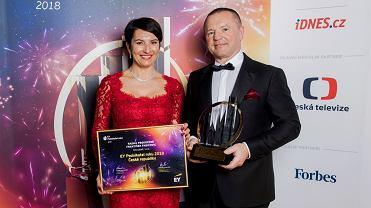 Radka Prokopová i František Fabicovic, założyciele firmy Alca plast