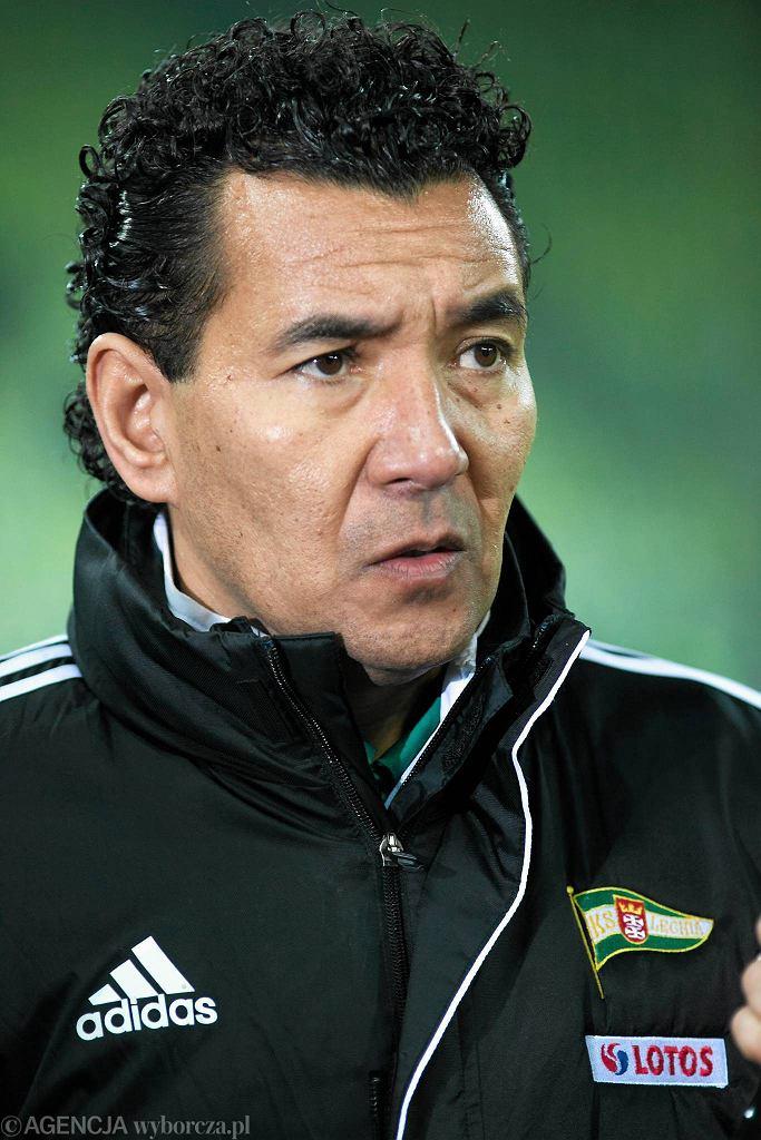 Trener Lechii Ricardo Moniz