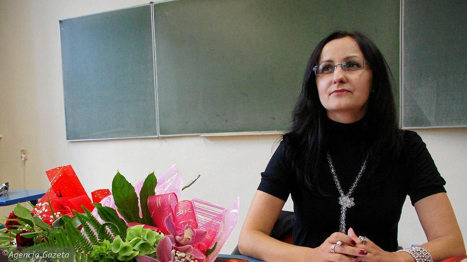 Beata Nowak, nauczycielka z III LO zmarła we wrześniu ub. roku