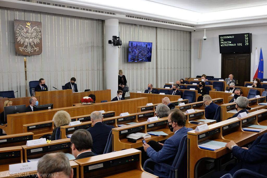 Senat. Zdjęcie ilustracyjne
