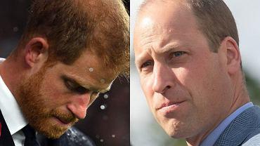Książę Harry i książę William przed pogrzebem dziadka złamali obowiązujący zakaz. Pomysłodawcą był William