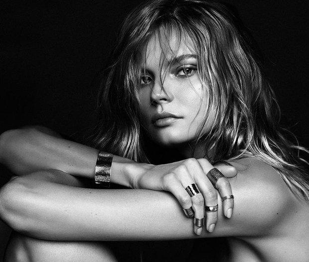 Magdalena Frackowiak Jewelry w sesji dla models.com