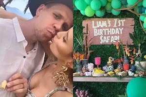 Pierwsze urodziny Liama Szczęsnego