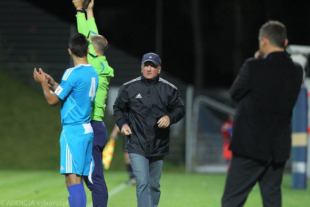 Trener Kotwicy Wiesław Bańkosz