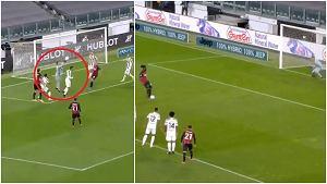 Kompromitacja Juventusu! Szczęsny z fatalnym błędem, ale obronił rzut karny [WIDEO]