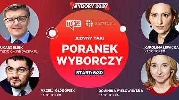 Poranek wyborczy TOK FM i Gazeta.pl