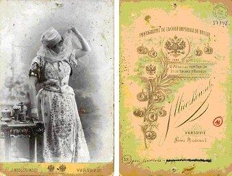 Pani Sznablowa, pacjentka Jadwigi Strumff, lata 90. XIX w.