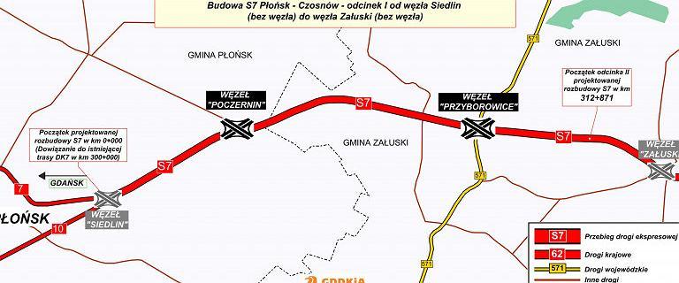 Wybrano ofertę na budowę ostatniego fragmentu trasy S7