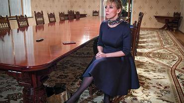 Maria Zacharowa, rzeczniczka prasowa rosyjskiego Ministerstwa Spraw Zagranicznych.
