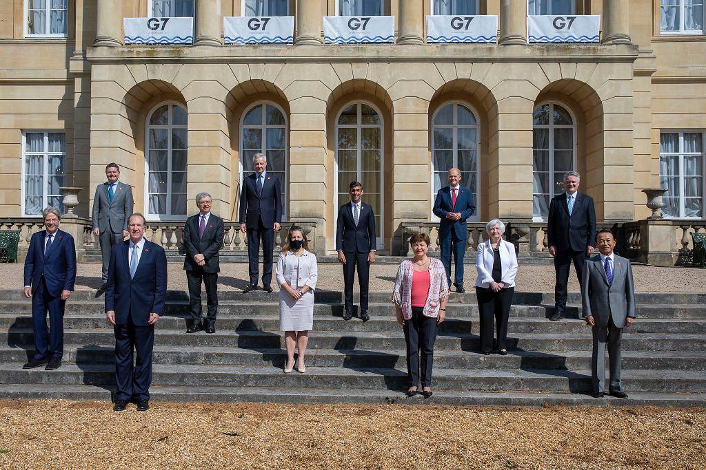 Państwa G7 porozumiały się ws. podatku od cyfrowych gigantów