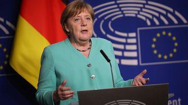 Angela Merkel złożyła gratulacje Andrzejowi Dudzie