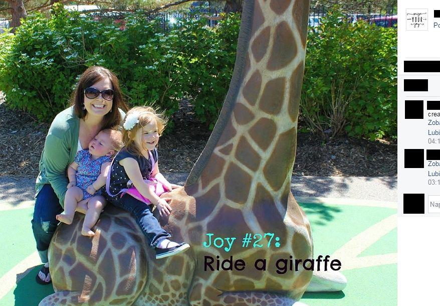 Tracy z córkami