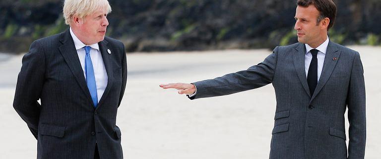 Szczyt G7. Johnson starł się z Macronem. Pałac Elizejski się tłumaczy
