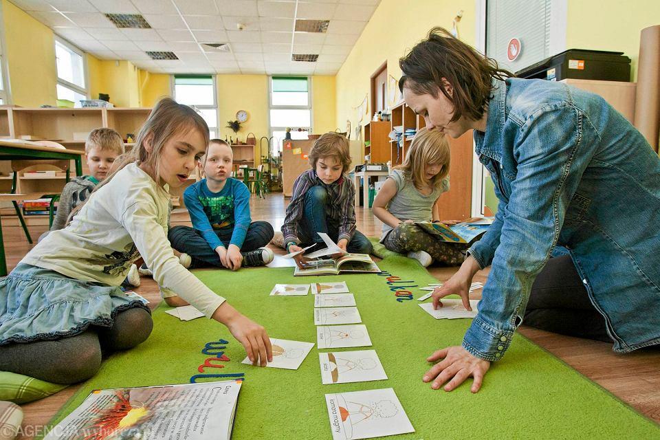 Zajęcia w Pierwszej Szkole Montessori w Bydgoszczy