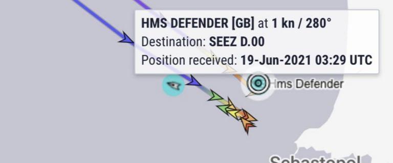 """Rosja. Brytyjski okręt """"ostrzegawczo ostrzelany"""". Moskwa: Naruszył granice"""