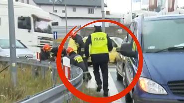 Policjant uratował 9-miesięcznego Tymka