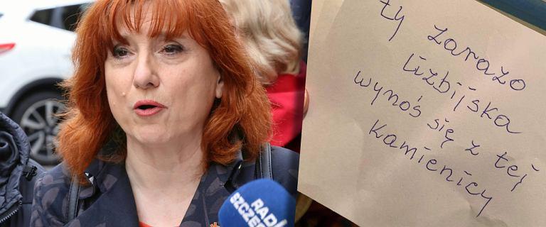 """""""Ty zarazo lizbijska"""". Posłanka Lewicy znalazła list na wycieraczce"""