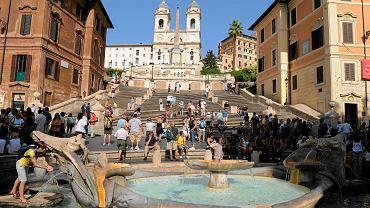 Plac Hiszpański w Rzymie